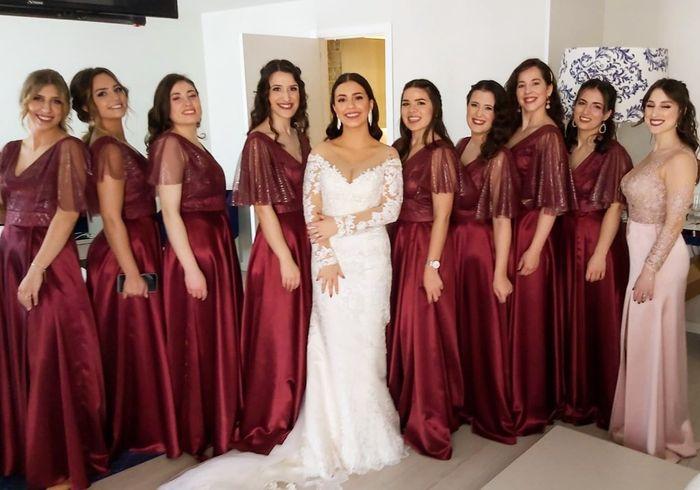 Casada(os) de Fresco: foi há 4 semanas :) 10