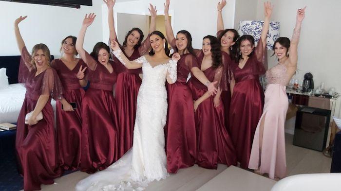Casada(os) de Fresco: foi há 4 semanas :) 11