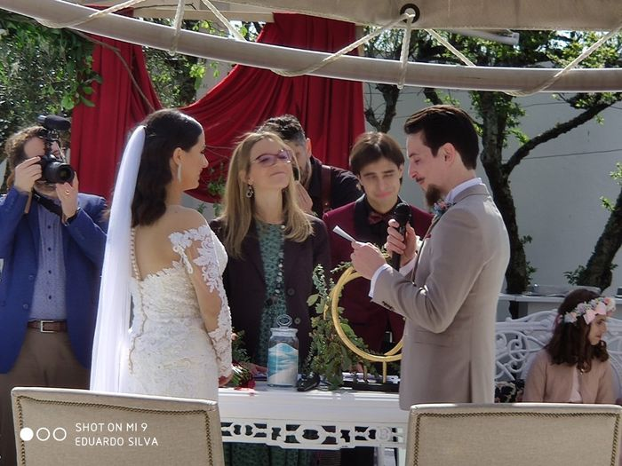 Casada(os) de Fresco: foi há 4 semanas :) 22