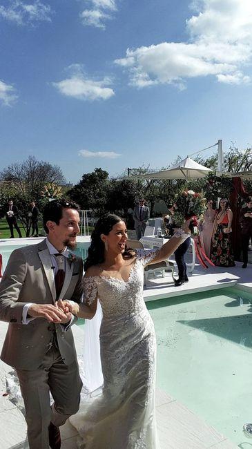 Casada(os) de Fresco: foi há 4 semanas :) 24