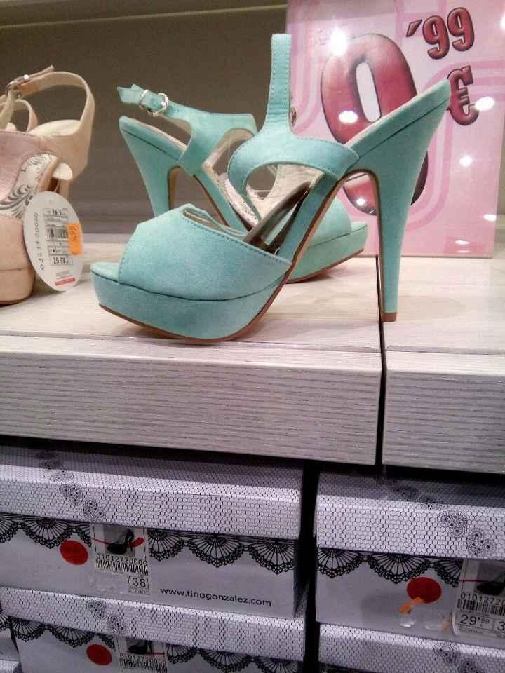 Sapatos verde menta - 2