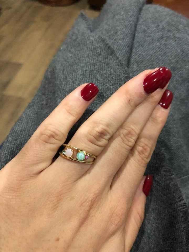 o que acham do meu anel de noivado? 1