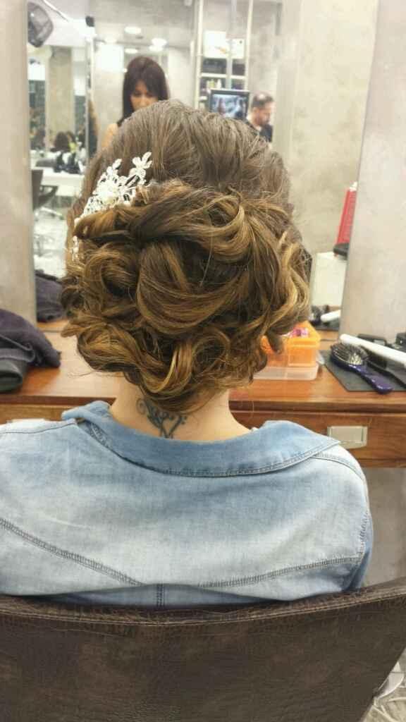 Prova do penteado - 2