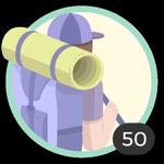 Aventureira (50). Não há limites para esse espírito aventureiro! Participou em 50 debates. Sendo assim, já pode usar este bonito emblema.