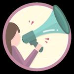 Extrovertida. Acaba de dar um grande passo na Comunidade, já que decidiu entrar em contacto com alguém do fórum pela primeira vez. Por ser tão extrovertida, ganhou esta medalha.