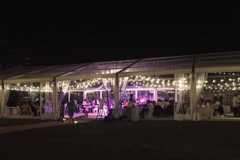 Festa em tenda