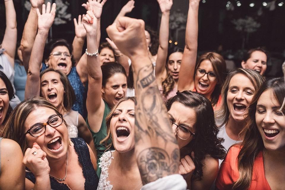 A tal imagem da festa...