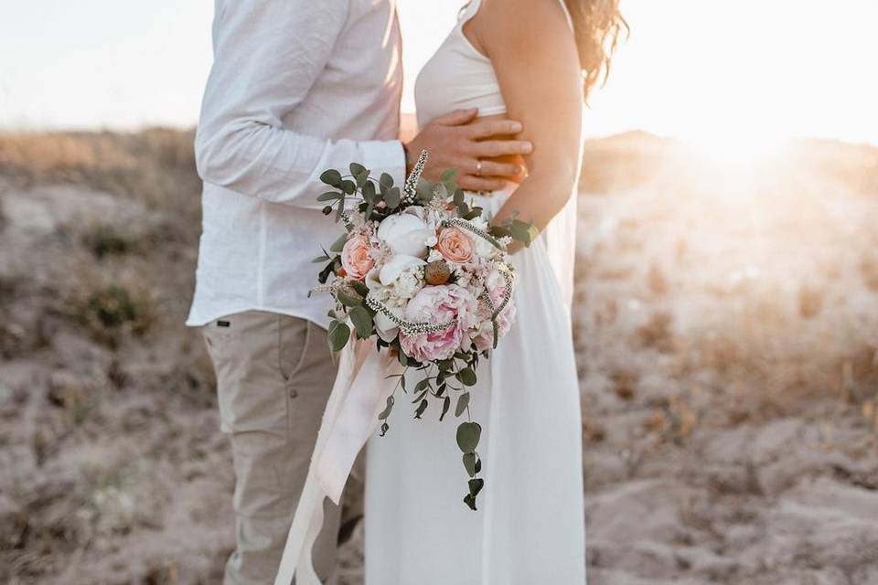 Bridal Bouquet by Into Bloom