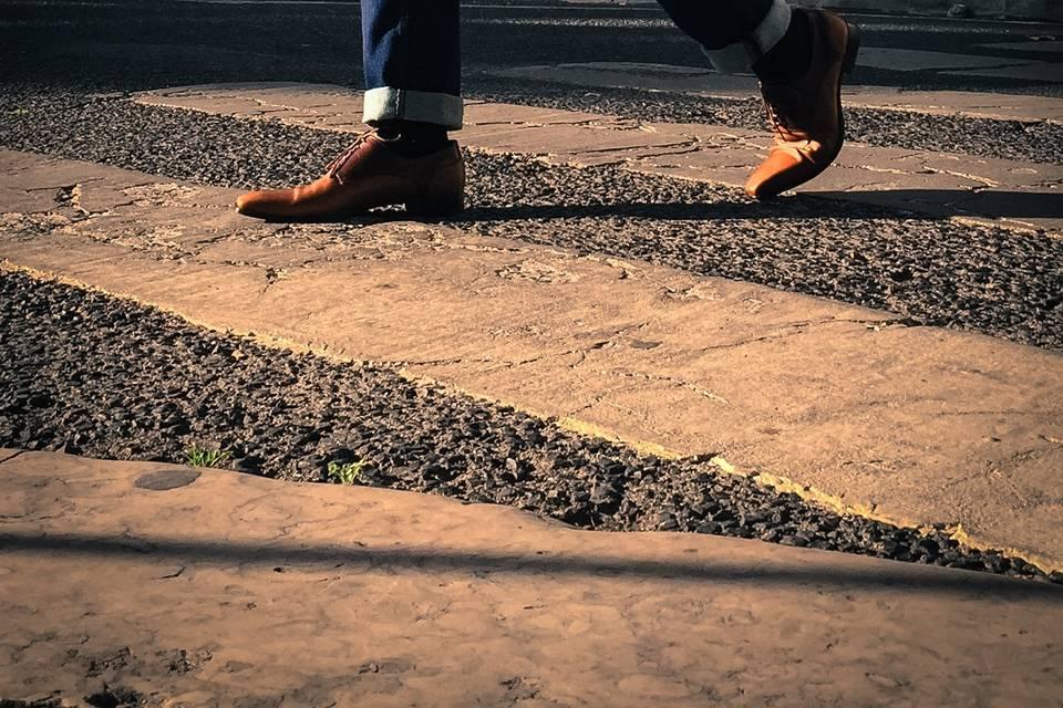 Sapatos 2 castanhos