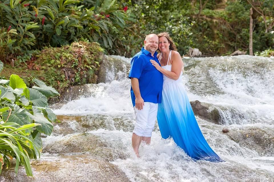 Vestido de casamento de praia