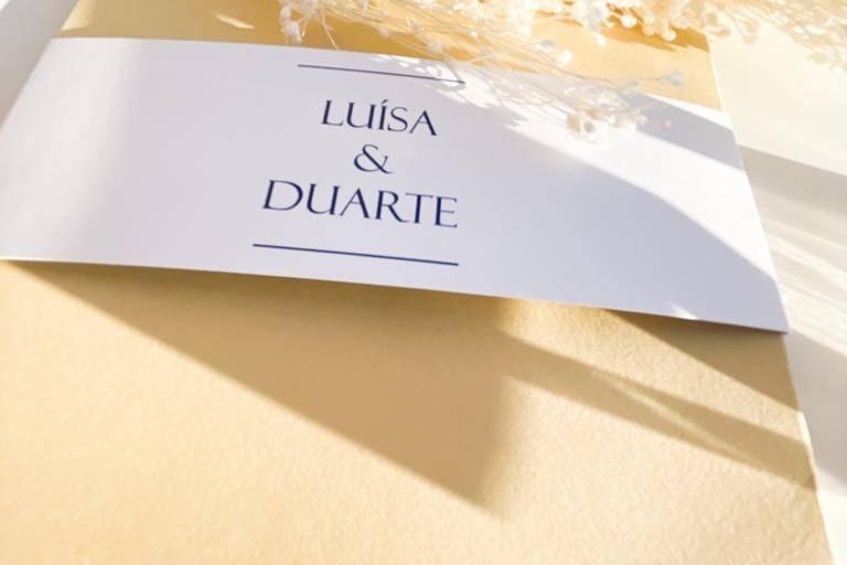 Envelope convite casamento