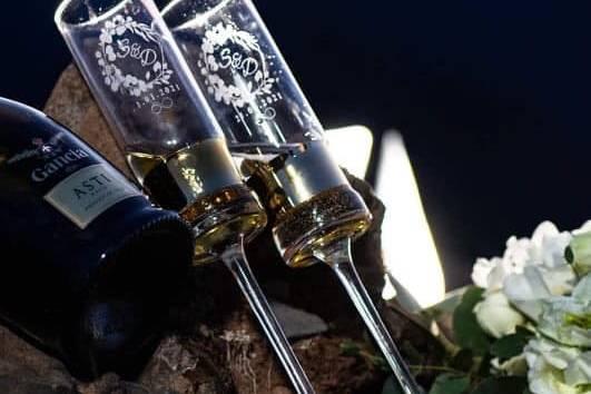 Flutes noivos